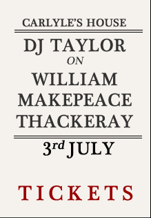 DJ Taylor Tickets William Makepeace Thackeray