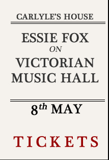 Essie fox on victorian music hall