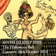 Halloween ball London Coronet Theatre