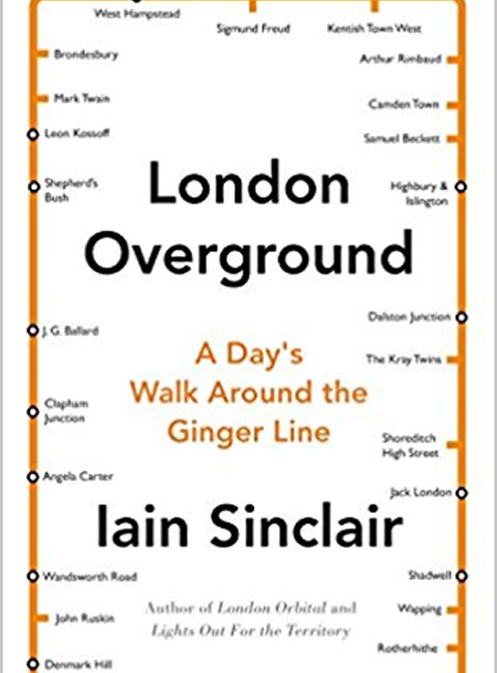 Iain Sinclair national Trust Walking the Ginger Line