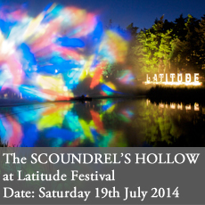 Latitude Festival Event scoundrels hollow last tuesday society viktor wynd suzette field curious invitation