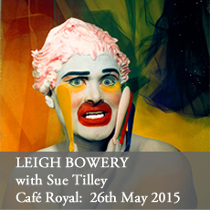Leigh Bowery at the Cafe Royal